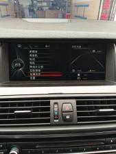 宝马五系520改装NBT 大屏 手写旋钮 倒车影像