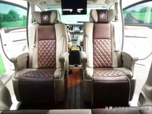 别克GL8改装,这3款航空座椅,你更喜欢哪款?