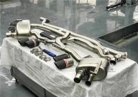天蝎AK,保时捷帕拉梅拉panamera 971钛合金阀门排气。