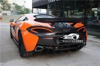 迈凯伦570S 540 570GT改装P1碳纤维尾翼McLaren双层大尾翼机盖版