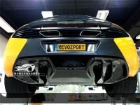 迈凯轮12C改装碳纤维后唇 MP4-12C改装RevoZport款小包围后扰尾翼