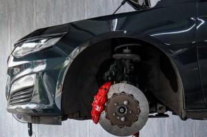 成都迈瑞宝XL制动改装AP8530四活塞刹车套件