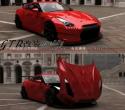 日产R35 GTR改装Bensopra 宽体 战神GTR改装赛道版机盖叶子板尾翼