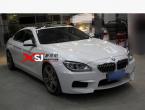 新款宝马6系改装M6大包围 F12F13升级M6前杠后杠侧裙 BMW6系尾翼