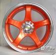 17寸日系车 荣威 福瑞迪 大众改装轮毂5*100/114.3轮辋钢圈YLX