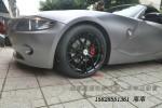 宝马Z4 改装18寸雅泛迪轮毂装车完成 成都轮毂改装升级