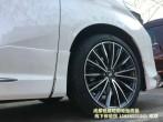成都锐捷轮毂改装中心 丰田埃尔法改装19寸定制锻造轮毂装车案例