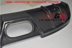奥迪TT改装中出碳纤维后唇排气管中尾段小包围奥迪TT改装包围尾翼