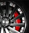 潍坊宝马改装,宝马X5改装刹车与轮毂作业
