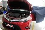 丰田雷凌改装全车LK绿卫士隔音+3M材料吸音棉