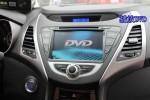 昆明车美乐 现代朗动改装卡仕达领航DVD导航案例