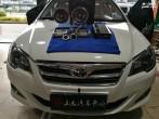 花冠音响改装|精选泉州山水汽车音响改装|芬朗MTX音响系统