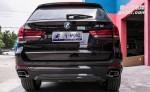 宝马X5排气改装,深圳宝马X5改装高配方口排气