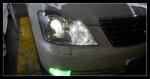 花冠大灯改装海拉6大灯改装双光透镜 欧司朗D1S氙气灯泡
