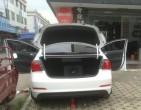桂林汽车音响改装哪里好 佳影汽车音响 现代名图改装德国喜力仕和...