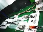 大连德利汽车改装宝马M5改装天蝎全段排气完工