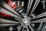 成都极速 现代名图改装18寸极速轮毂KX3269 装车