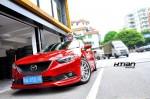 阿特兹改装HTIAN Racing19寸轮毂 轮胎 刹车 避震 装车效果