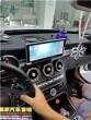 奔驰C级改装安卓大屏导航——郴州市皇家音响