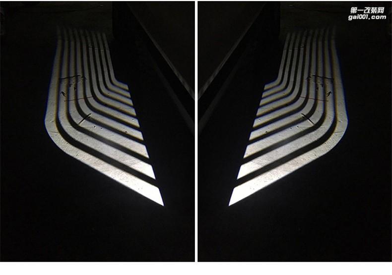 宝马三系五系七系X3X5X6天使之翼地毯灯